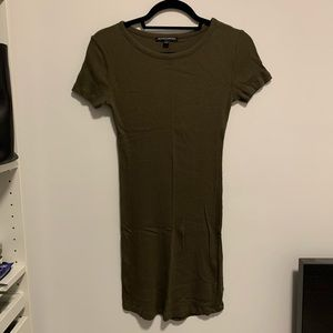 Brandy Melville Ribbed T-Shirt Dress